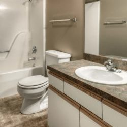 Harney St Apartments Bathroom | Milestone Property